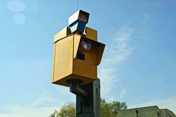 Sieć fotoradarów na autostradach to nieprawda