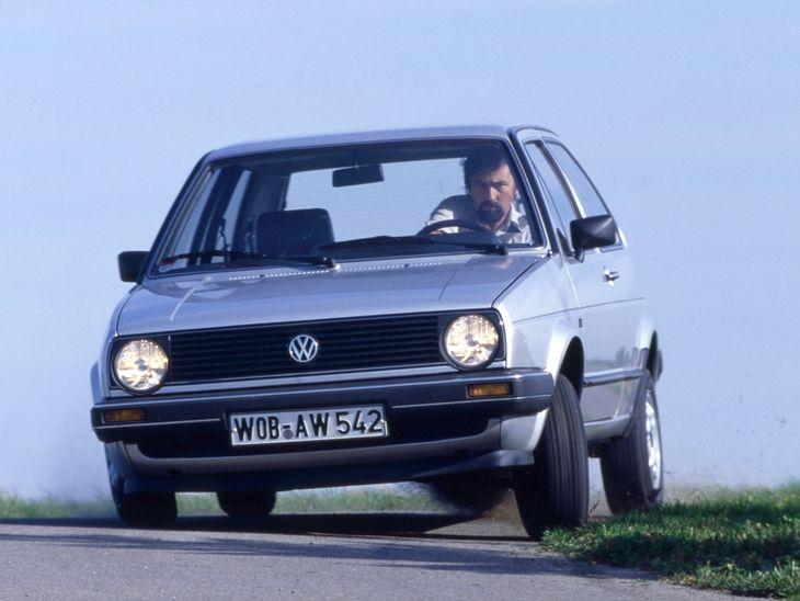 Volkswagen Pindera zaczął życie jako zwykły golf - taki jak ten na zdjęciu