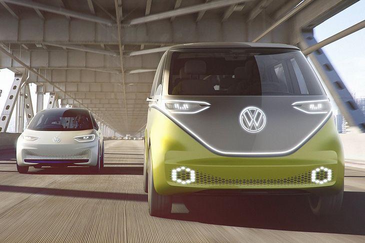 Elektryczne koncepty Volkswagena z rodziny I.D. To w ich przyszłość niemiecki koncern inwestuje ogromną kwotę.
