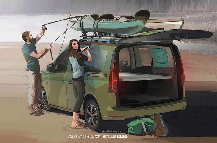 Caddy Beach będzie wyróżniał się licznymi dodatkami przydatnymi w podróży.