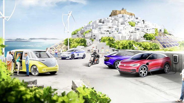 Astypalea to śmiały projekt społeczny będący wynikiem porozumienia Volkswagena i władz Grecji.