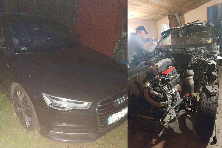 Audi było w całości, ale prace nad mercedesem już się rozpoczęły