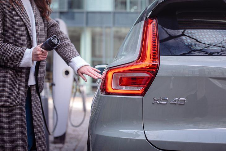 XC40 Recharge to dopiero początek. Za kilka lat każde volvo będzie zasilane prądem.