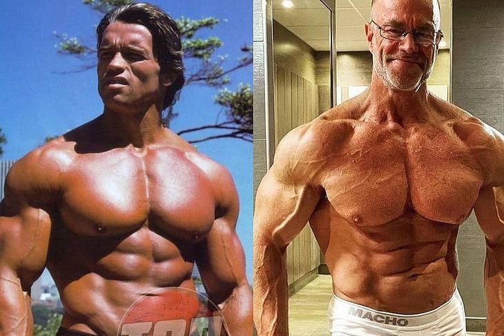 Arnold Schwarzenegger vs Julian Molteno