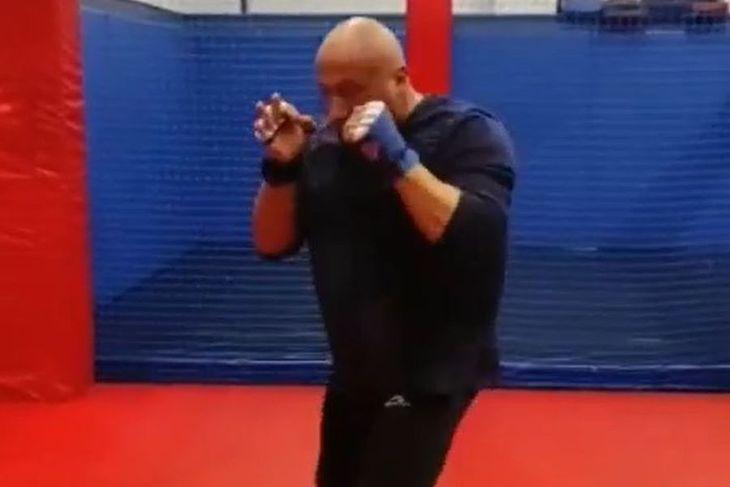 Trening Marcina Najmana