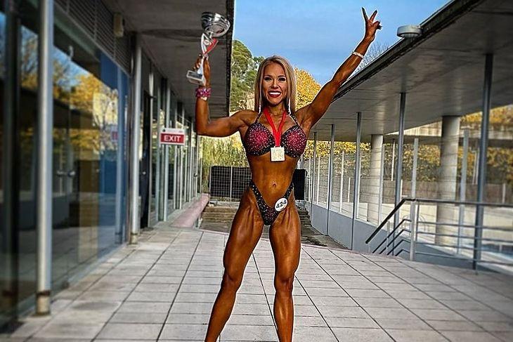 Anna Woźniakowska ze złotym medalem