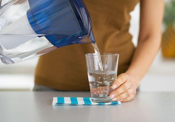 Filtrowana woda jest smaczniejsza i czystsza