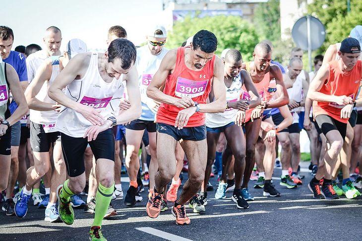 Uczestnicy Wizz Air Katowice Half Marathon