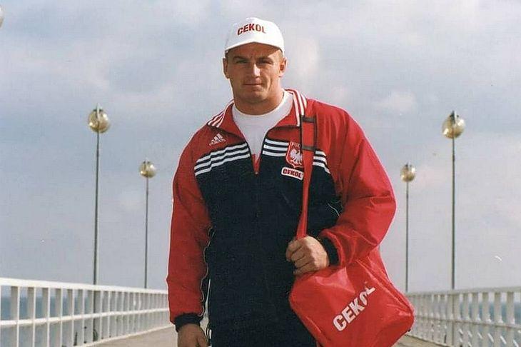 Mariusz Pudzianowski w 1999 r.