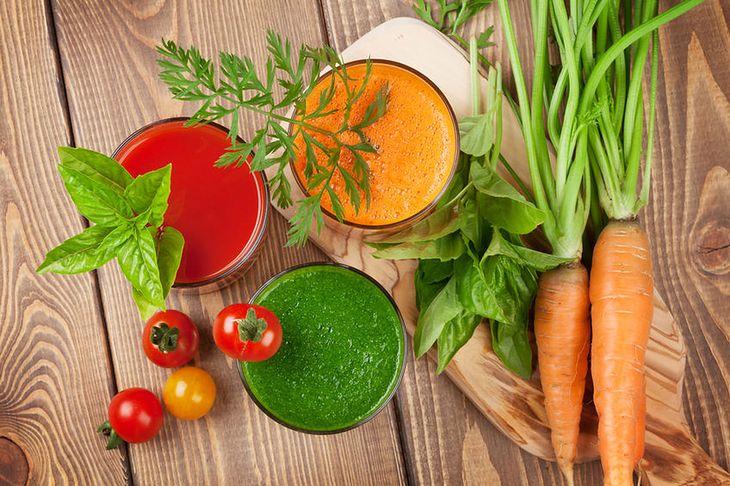 Soki z warzyw