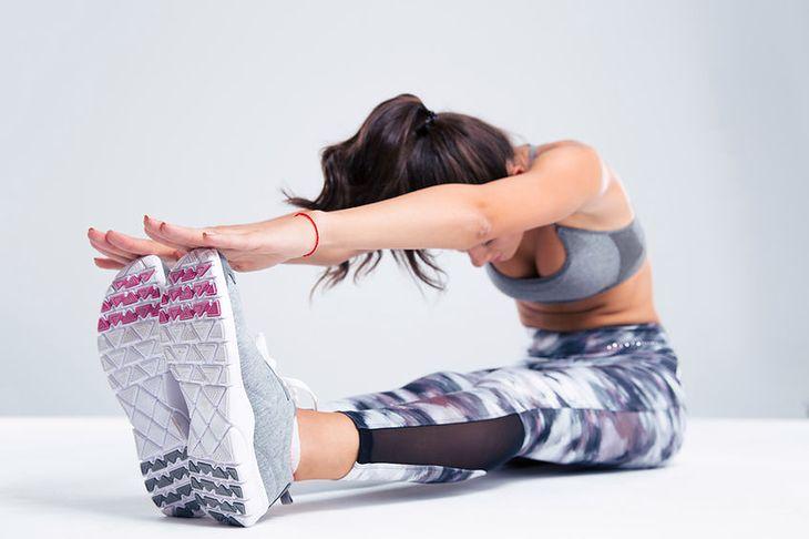 Stretching nóg