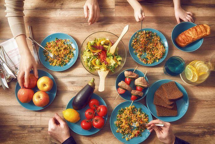 Jedzenie na stole