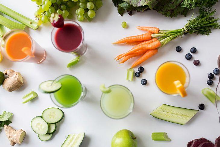 Soki i koktajle warzywno-owocowe
