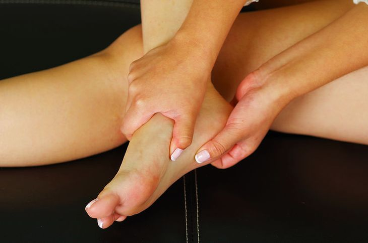 Bolesność mięśni stóp