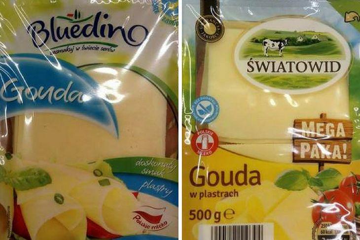 Porówniane serów z Lidla i Biedronki
