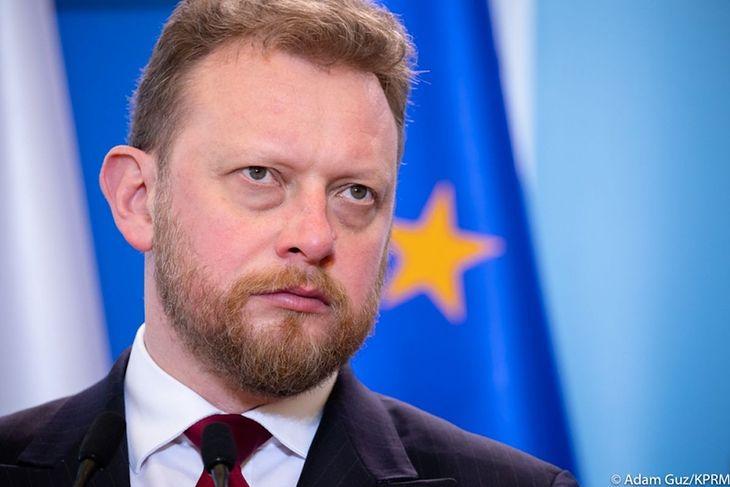 Na zdjęciu: Łukasz Szumowski