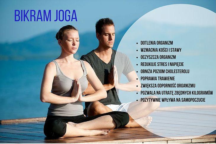 Zalety bikram jogi