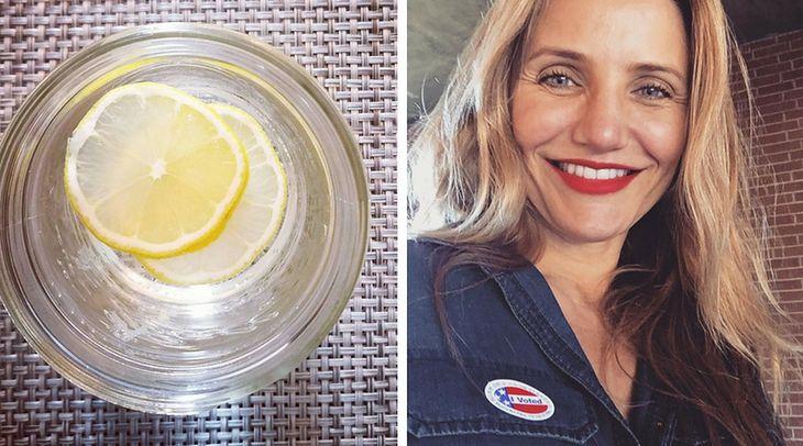 Cameron Diaz wprowadziła do menu sok z cytryny