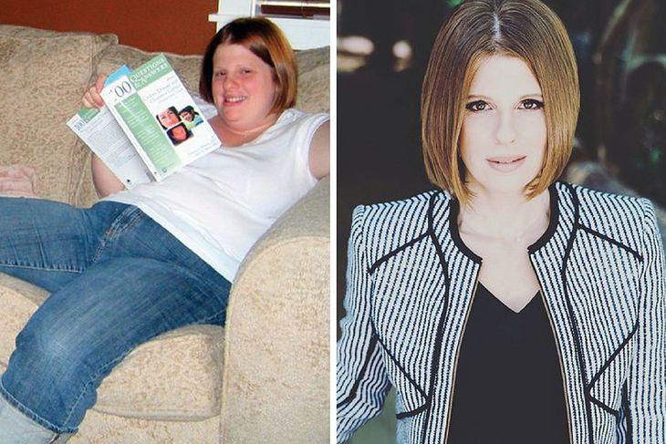 Jennifer przed i po metamorfozie