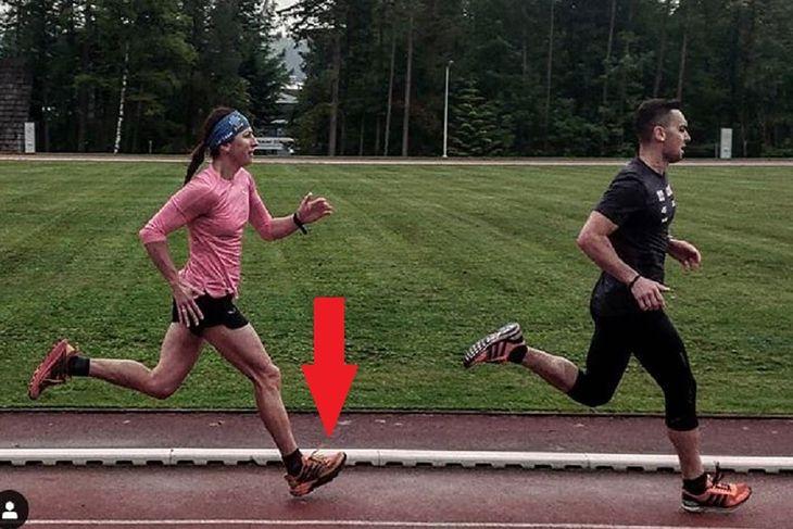 Justyna Kowalczyk podczas biegu