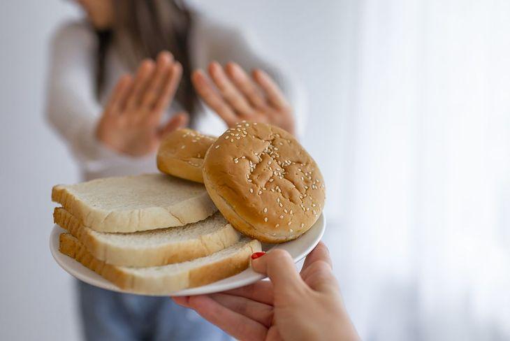 Dieta bezglutenowa wyklucza jedzenie pieczywa
