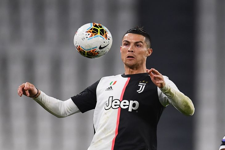Na zdjęciu: Cristiano Ronaldo