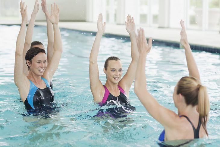 Zajęcia z aqua aerobiku