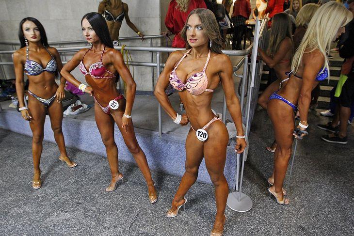 Zawodniczki bikini fitness