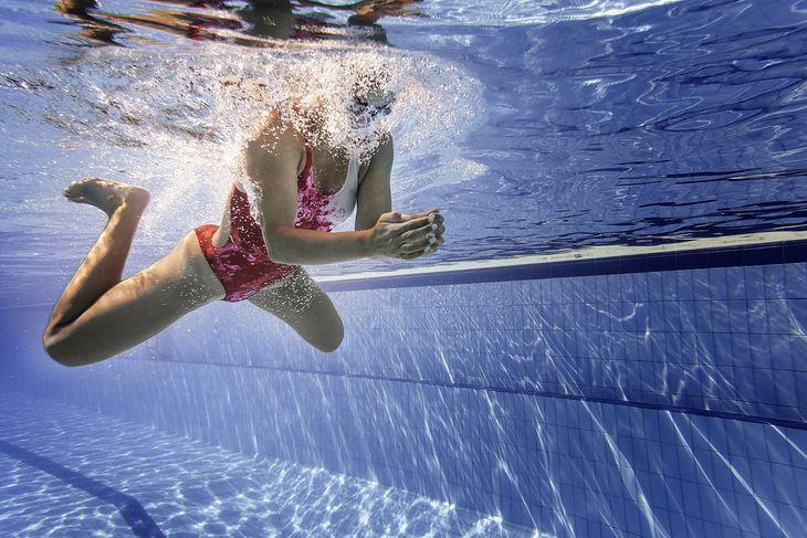 Żabka to popularny styl pływacki
