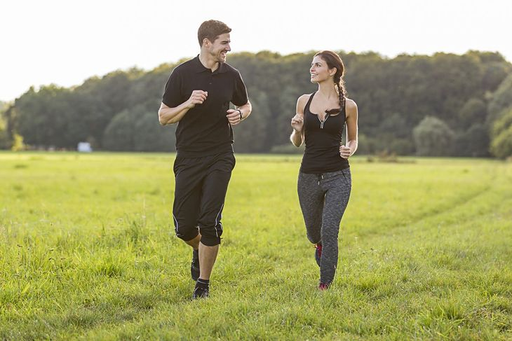 Trening tlenowy nie powinien zbyt mocno obciążać mięśni