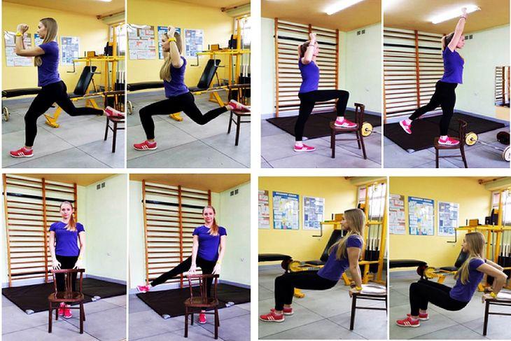 Oto jak wykonać poszczególne ćwiczenia