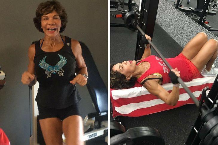 Josefina Monasterio zaczęła ćwiczyć w wieku 59 lat