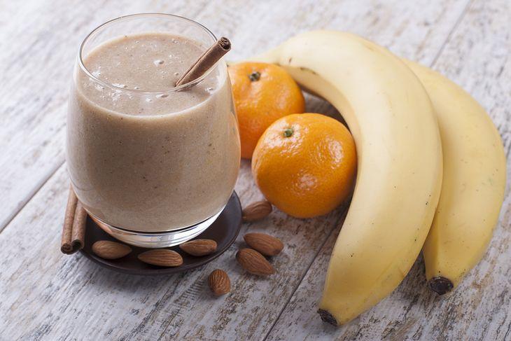 Migdałowo-owocowe smoothie