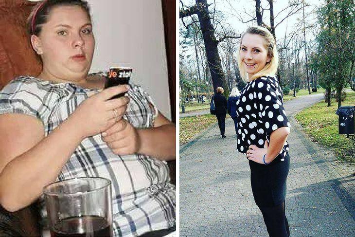 I. Michalik z nadwagą i po schudnięciu 67 kilogramów
