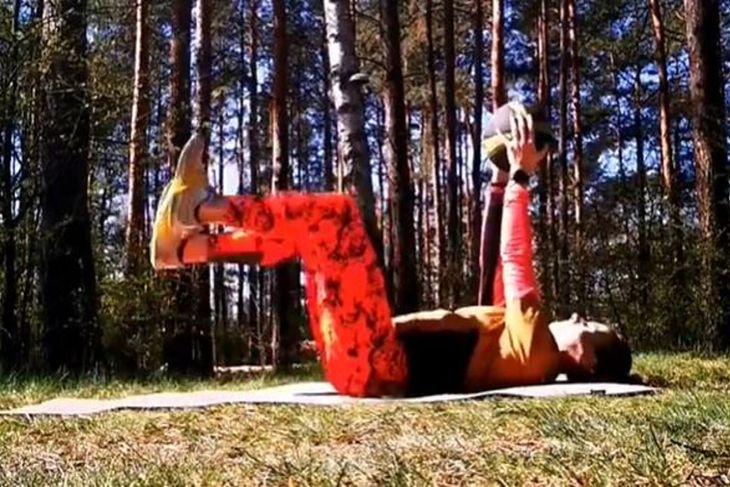 Trening w lesie Mariki Popowicz-Drapały