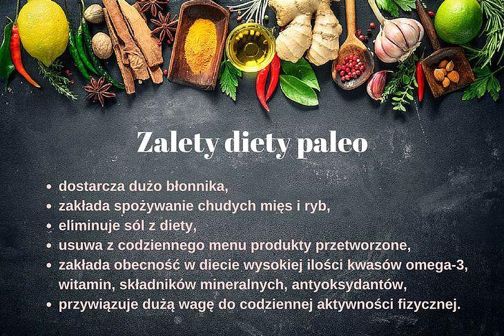 Zalety diety paleo
