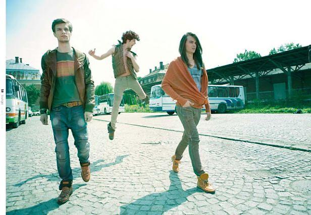 Modele: Kamil Hojarczyk (Fashion Color), Maciek Rumian (Fashion Color), Michał Sadowski (United4Models), fot. Michał Mąsior