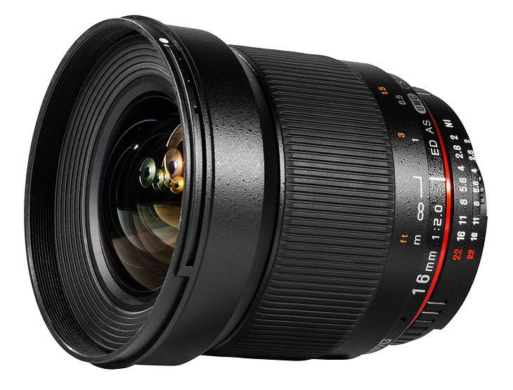 Samyang 16mm f/2.0