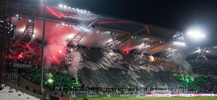 Gigapanorama ze stadionu Legi