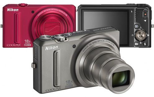 Szerokokątne i kolorowe aparaty Nikon Coolpix