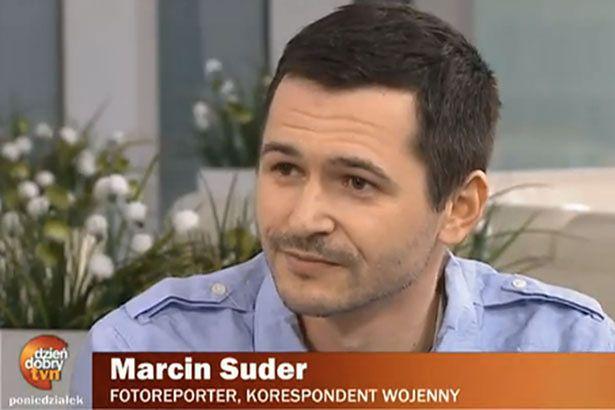 Marcin Suder.Screen z archiwalnego wydania DD TVN 2012