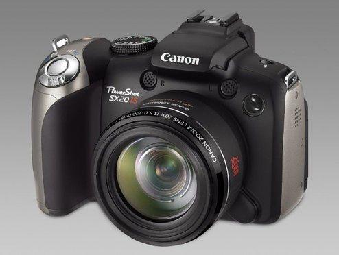 Canon PowerShot SX20 IS ? 20x zoom w zgrabnej obudowanie