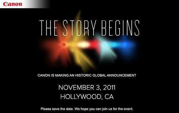3 listopada Canon nas zaskoczy (albo nie...)