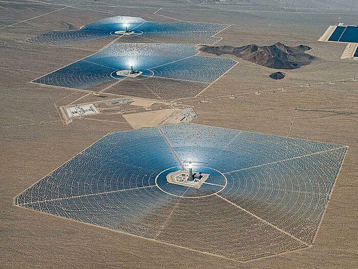 Elektrownia słoneczna w USA.