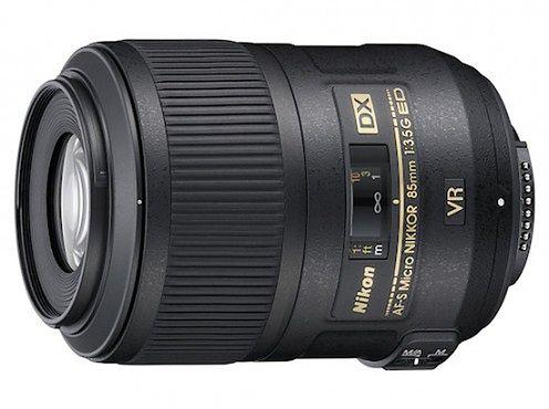 Nikon AF-S DX Micro Nikkor 85mm F3,5G VR - makro dla amatorów?