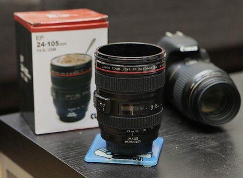 Kubek na kawę Canon 24-70 mm f/4 do kupienia na eBay
