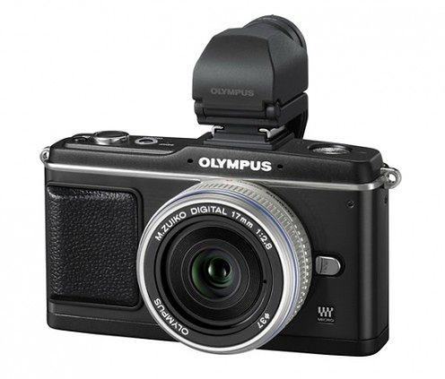 Olympus PEN E-P2 - na czarno, ale oficjalnie