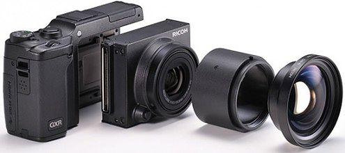 Ricoh GXR - oficjalne zdjęcia i specyfikacje