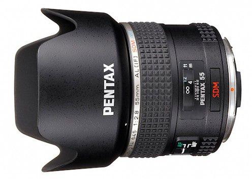 Pentax D FA 645 55 mm f/2.8 - nowy obiektyw do Pentaxa 645D