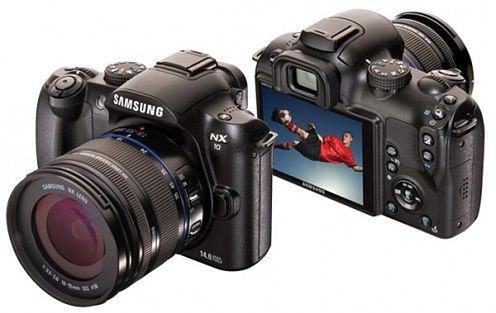Samsung NX10 - matryca APS-C i ekran AMOLED w kompaktowym korpusie